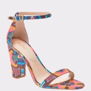 Sandale ALDO multicolore, Myly, din material textil