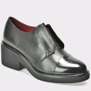 Pantofi STONEFLY negri, din piele naturala