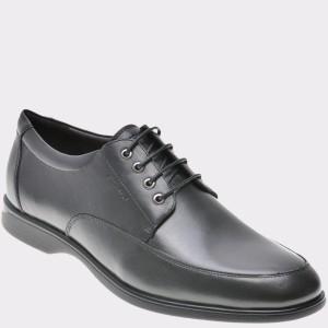 Pantofi STONEFLY negri, Smart6, din piele naturala