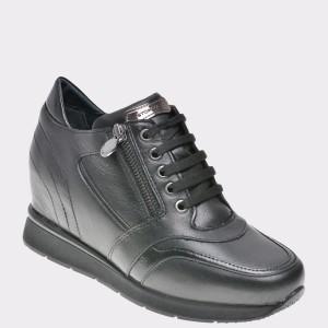 Pantofi STONEFLY negri, Jacki10, din piele naturala