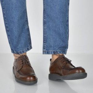 Pantofi STONEFLY maro, Musk10, din piele naturala