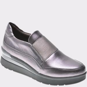 Pantofi STONEFLY gri, Cream1, din piele naturala