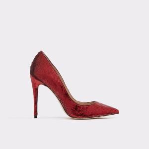 Pantofi Aldo Rosii, Stessy, Din Material Textil