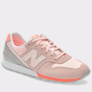 Pantofi sport NEW BALANCE roz, Wr996, din piele intoarsa