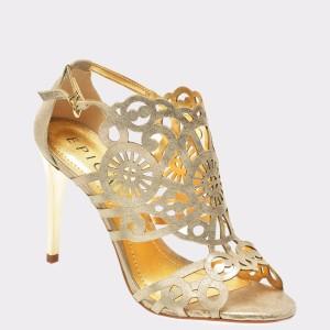 Sandale EPICA aurii, 87260, din piele naturala