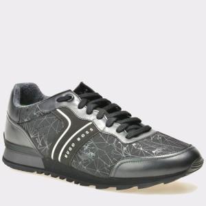 Pantofi HUGO BOSS negri, 1712, din material textil
