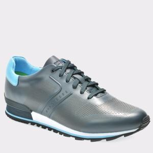 Pantofi sport HUGO BOSS bleumarin, 5646, din piele ecologica