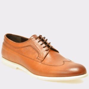 Pantofi OTTER maro, 272, din piele naturala
