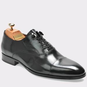 Pantofi LE COLONEL negri, 42535, din piele naturala