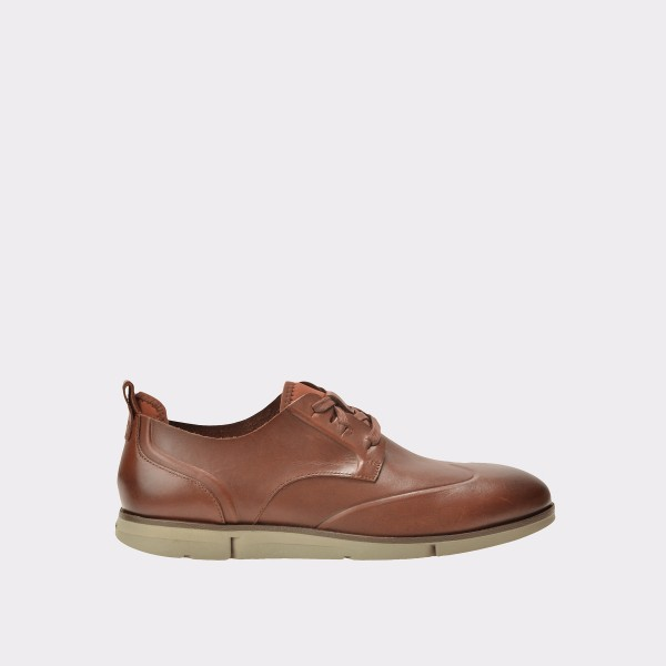 Pantofi Clarks Maro  6128345  Din Piele Naturala