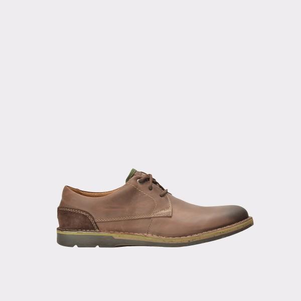Pantofi Clarks Maro  6119832  Din Piele Naturala