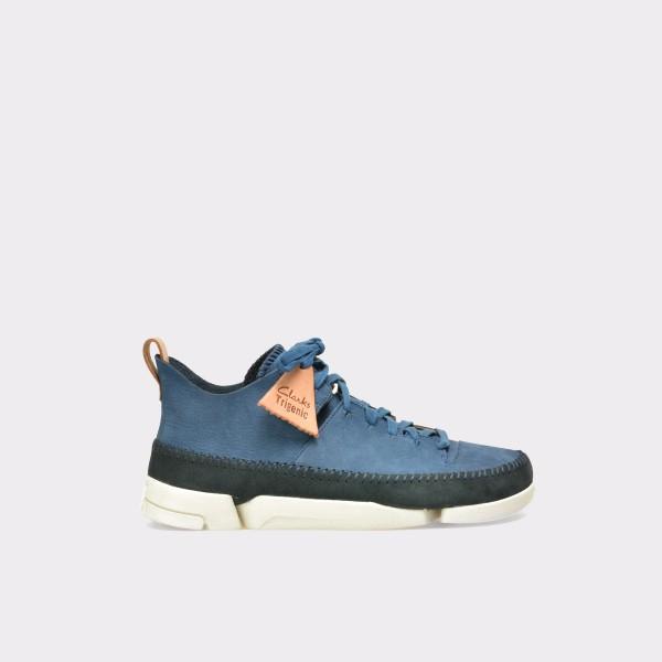 Pantofi CLARKS albastri, 6123009, din nabuc de la Clarks tezyo.ro – by OTTER Distribution