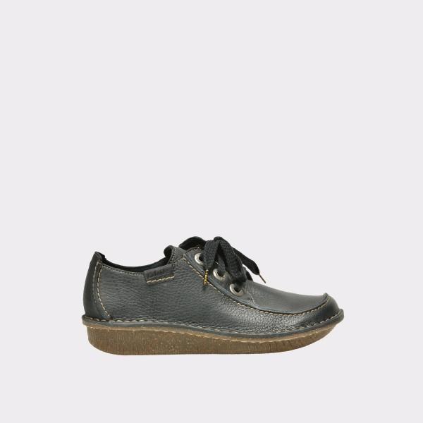 Pantofi Clarks Bleumarin  301123  Din Piele Natura