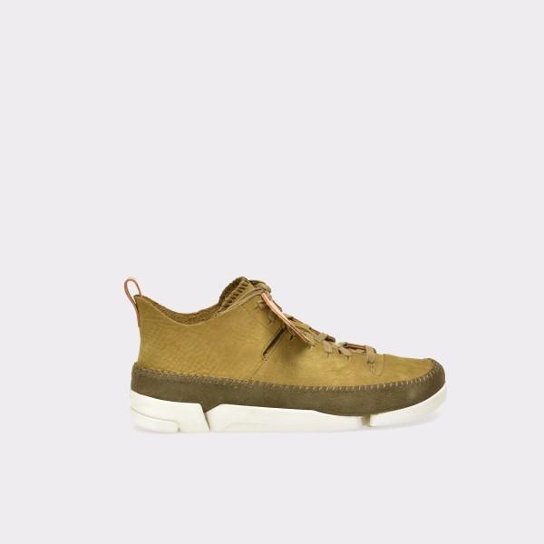 Pantofi CLARKS kaky, 6123001, din nabuc de la Clarks tezyo.ro – by OTTER Distribution