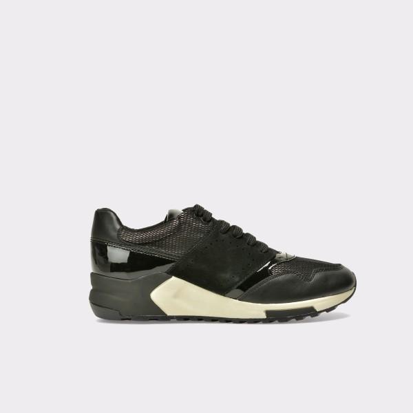 Pantofi sport GEOX negri, D724Da, din piele intoarsa de la Geox tezyo.ro – by OTTER Distribution