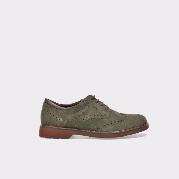 Pantofi GEOX gri, U54L9A, din piele intoarsa de la Geox tezyo.ro – by OTTER Distribution