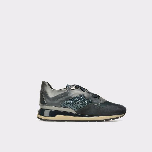 Pantofi sport GEOX bleumarin, D62N1B, din piele naturala de la Geox tezyo.ro – by OTTER Distribution