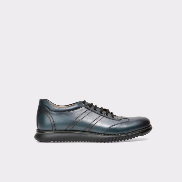Pantofi OTTER bleumarin, Cool01, din piele naturala de la Otter tezyo.ro – by OTTER Distribution