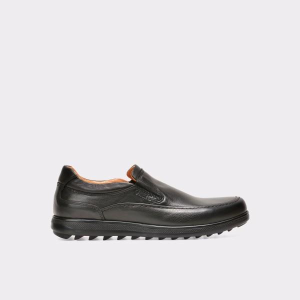 Pantofi OTTER negri, 40939, din piele naturala