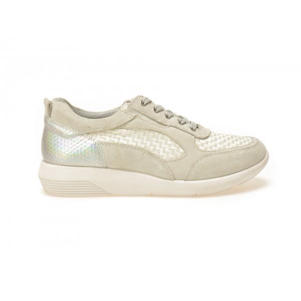 Pantofi sport TRIVICT gri, S17114, din piele ecologica de la Trivict tezyo.ro – by OTTER Distribution