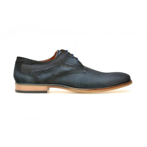 Pantofi BUGATTI bleumarin, 24901, din piele intoarsa de la Bugatti tezyo.ro – by OTTER Distribution