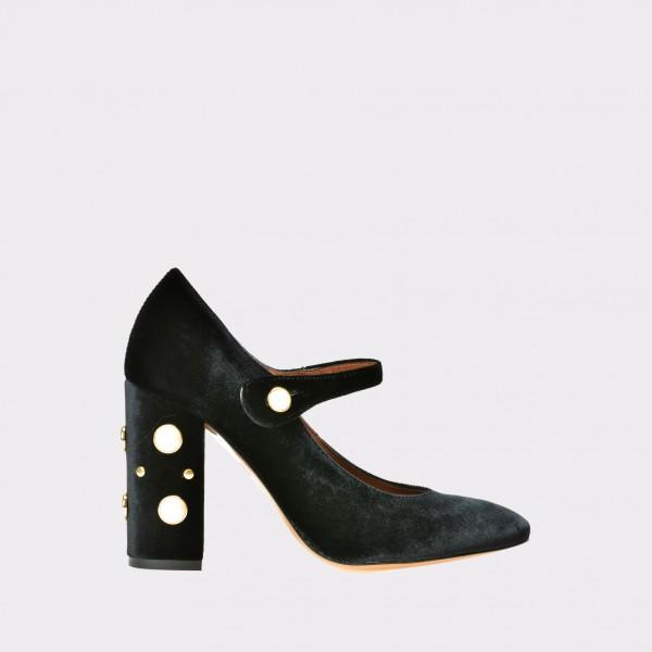 Pantofi EPICA negri , 1289, din material textil de la Epica tezyo.ro – by OTTER Distribution