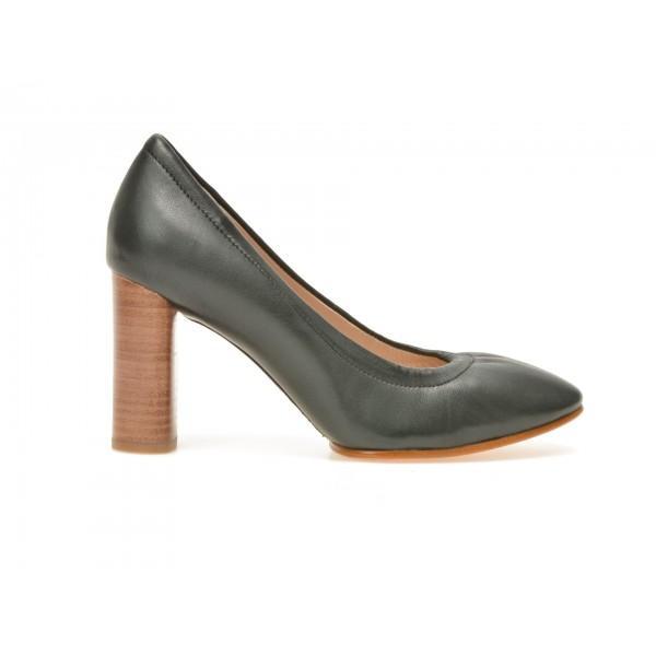 Pantofi Clarks Negri  6123076  Din Piele Naturala