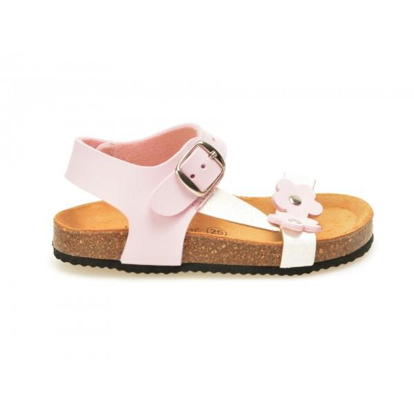Sandale Pentru Copii La Compania Natural Roz  31886  Din Piele Ecologica