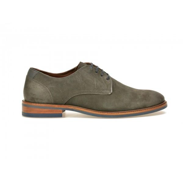 Pantofi gri, 3052269, din piele intoarsa de la Altele tezyo.ro – by OTTER Distribution