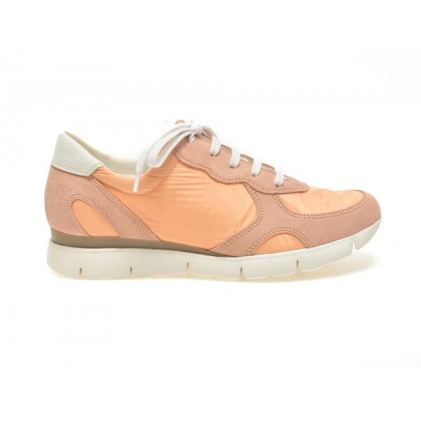 Pantofi FLEXX portocalii, Movie, din piele naturala si material textil de la Flexx tezyo.ro – by OTTER Distribution