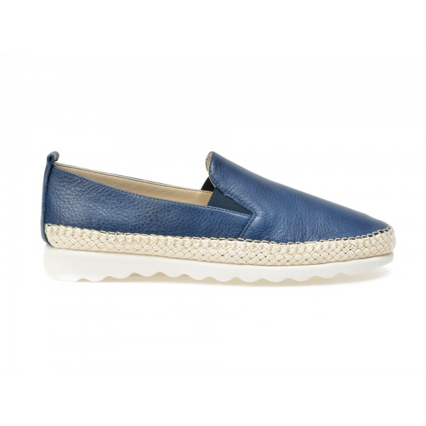 Espadrile The FLEXX bleumarin, CHAPPIE, din piele naturala de la The Flexx tezyo.ro – by OTTER Distribution