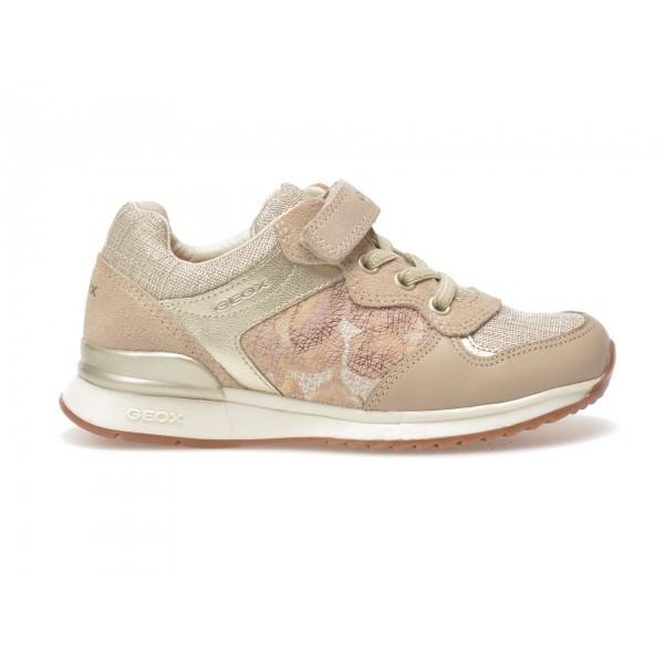 Pantofi sport pentru copii GEOX bej, J7203C, din combinatii div. de la Geox tezyo.ro – by OTTER Distribution