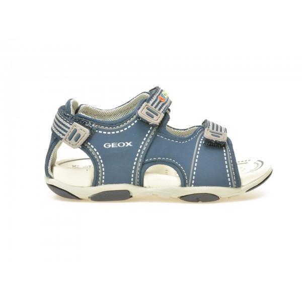 Sandale pentru copii GEOX bleumarin, B721AF, din piele ecologica de la Geox tezyo.ro – by OTTER Distribution