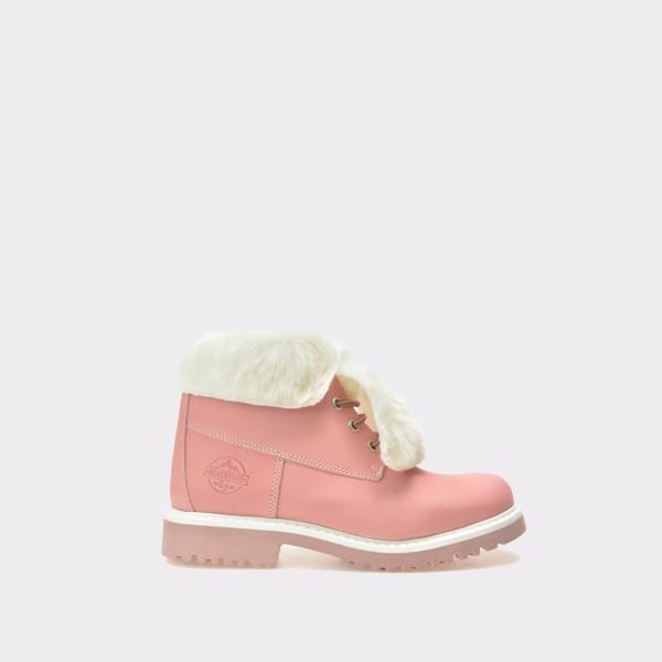 Ghete pentru copii TARTY roz, Mk6125, din nabuc de la Tarty by Melania tezyo.ro – by OTTER Distribution