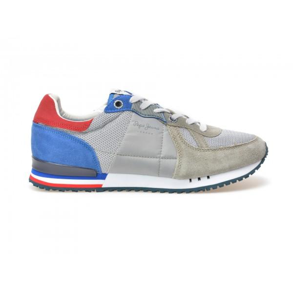 Pantofi Sport Pepe Jeans Gri  Ms30343  Din Materia