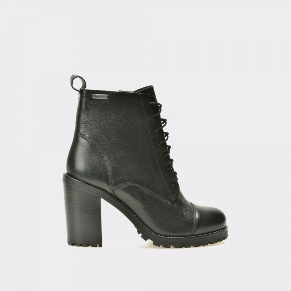 Ghete PEPE JEANS negre, Ls50304, din piele naturala de la Pepe Jeans tezyo.ro – by OTTER Distribution