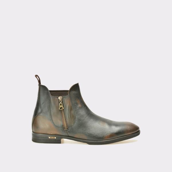 Ghete PEPE JEANS maro, Ms50142, din piele naturala de la Pepe Jeans tezyo.ro – by OTTER Distribution