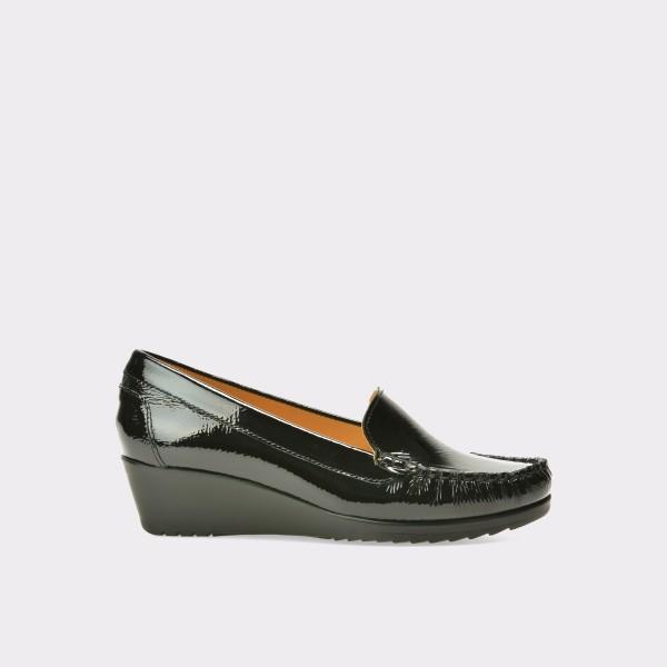 Pantofi OTTER negri, 2200, din piele naturala lacuita de la Otter tezyo.ro – by OTTER Distribution