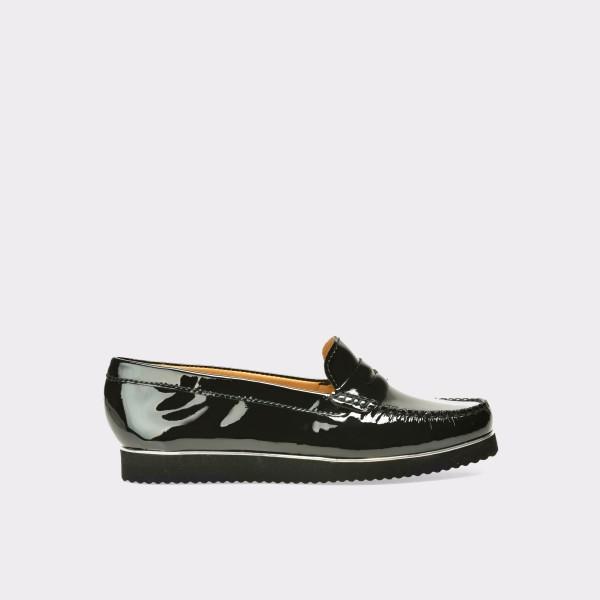 Pantofi OTTER negri, 7001, din piele naturala lacuita de la Otter tezyo.ro – by OTTER Distribution