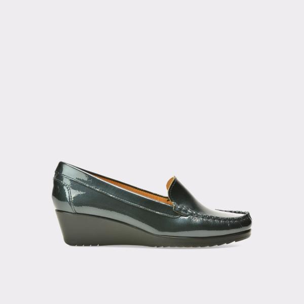 Pantofi OTTER bleumarin, 2200, din piele naturala lacuita de la Otter tezyo.ro – by OTTER Distribution
