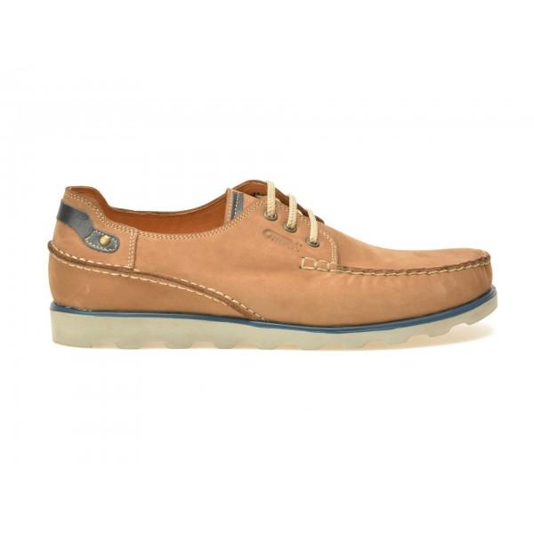 Pantofi mocasini OTTER maro, 2518, din nabuc de la Otter tezyo.ro – by OTTER Distribution