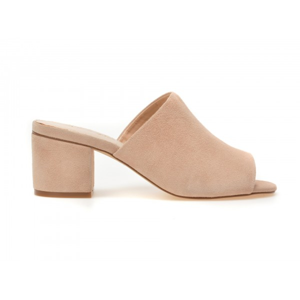 Papuci IMAGE roz, 9303, din piele intoarsa de la Image tezyo.ro – by OTTER Distribution
