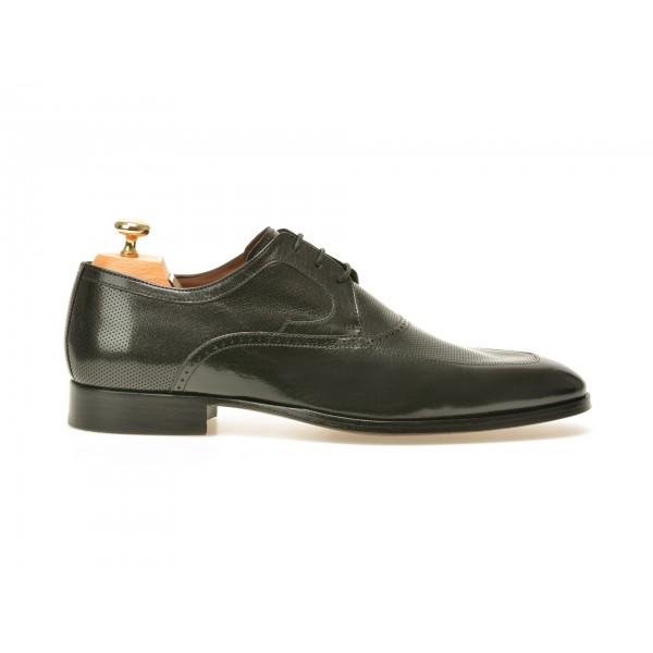 Pantofi Le Colonel Negri  42516  Din Piele Natural