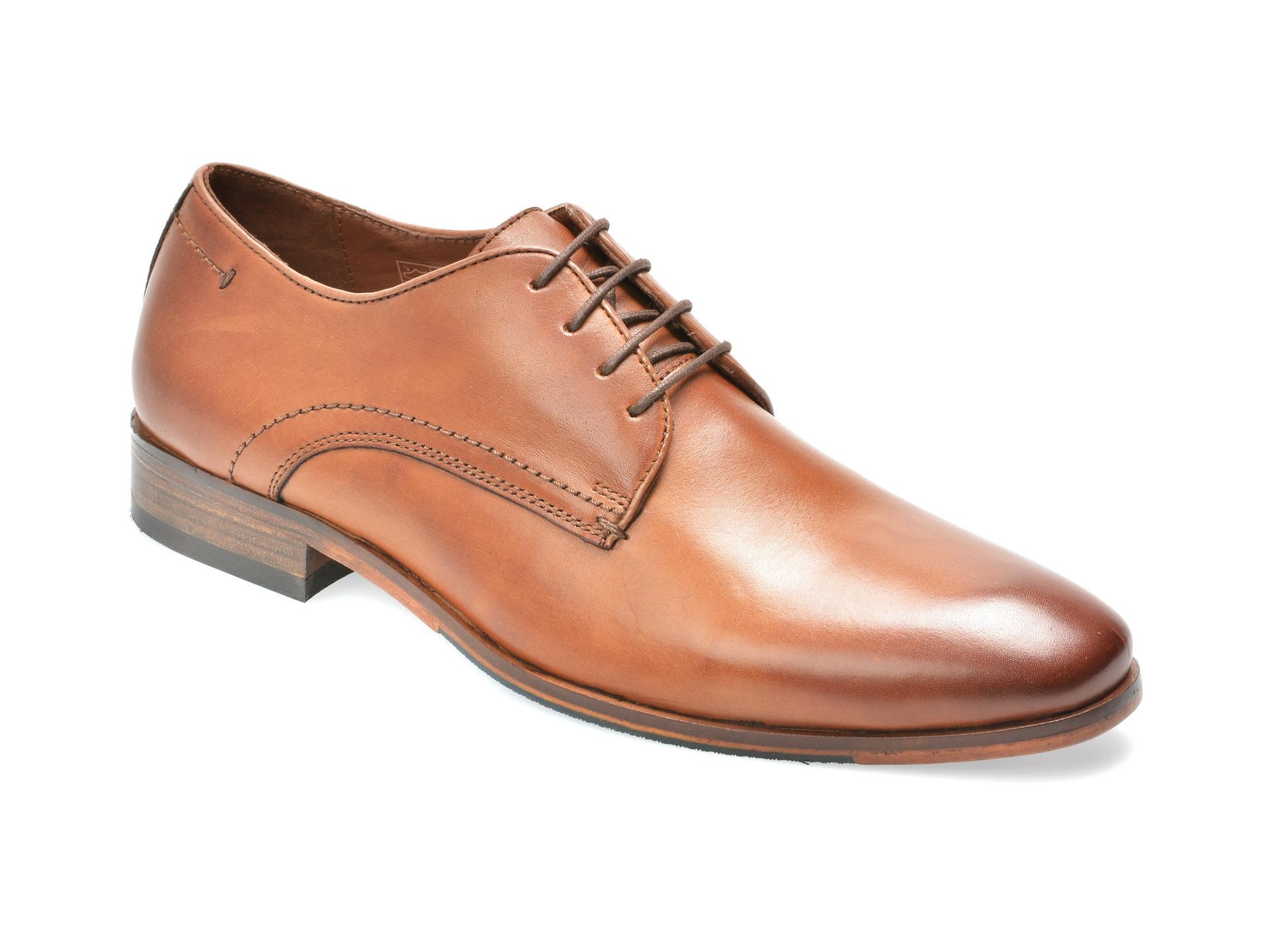 Pantofi SALAMANDER maro, 57401, din piele naturala