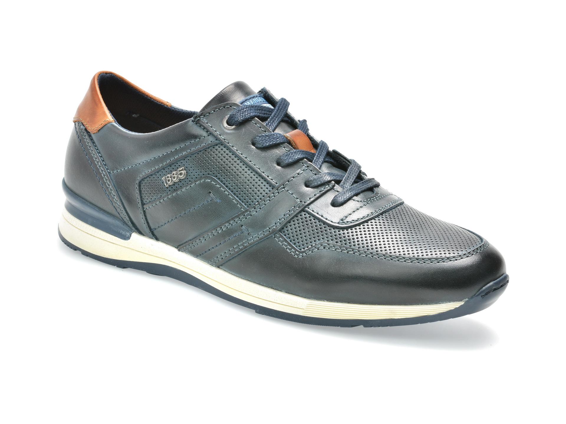 Pantofi SALAMANDER bleumarin, 56201, din piele naturala