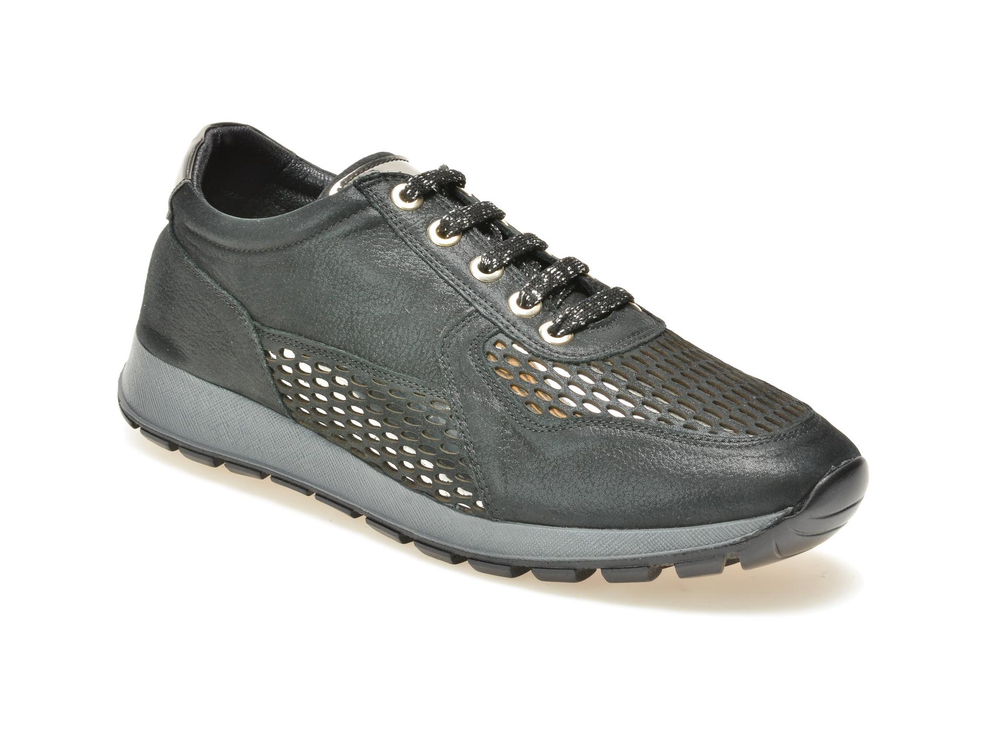 Pantofi FLAVIA PASSINI negri, Nb2016, din piele naturala