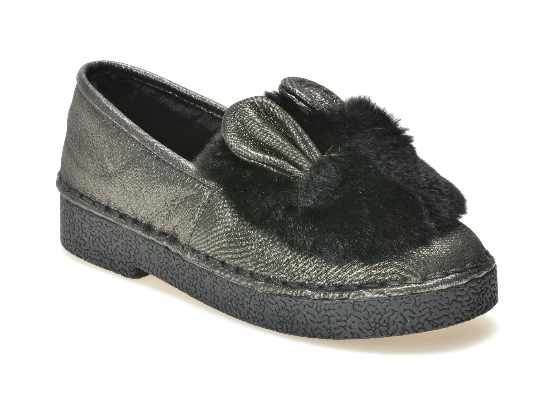 Pantofi FLAVIA PASSINI gri, Ag17169, din nabuc