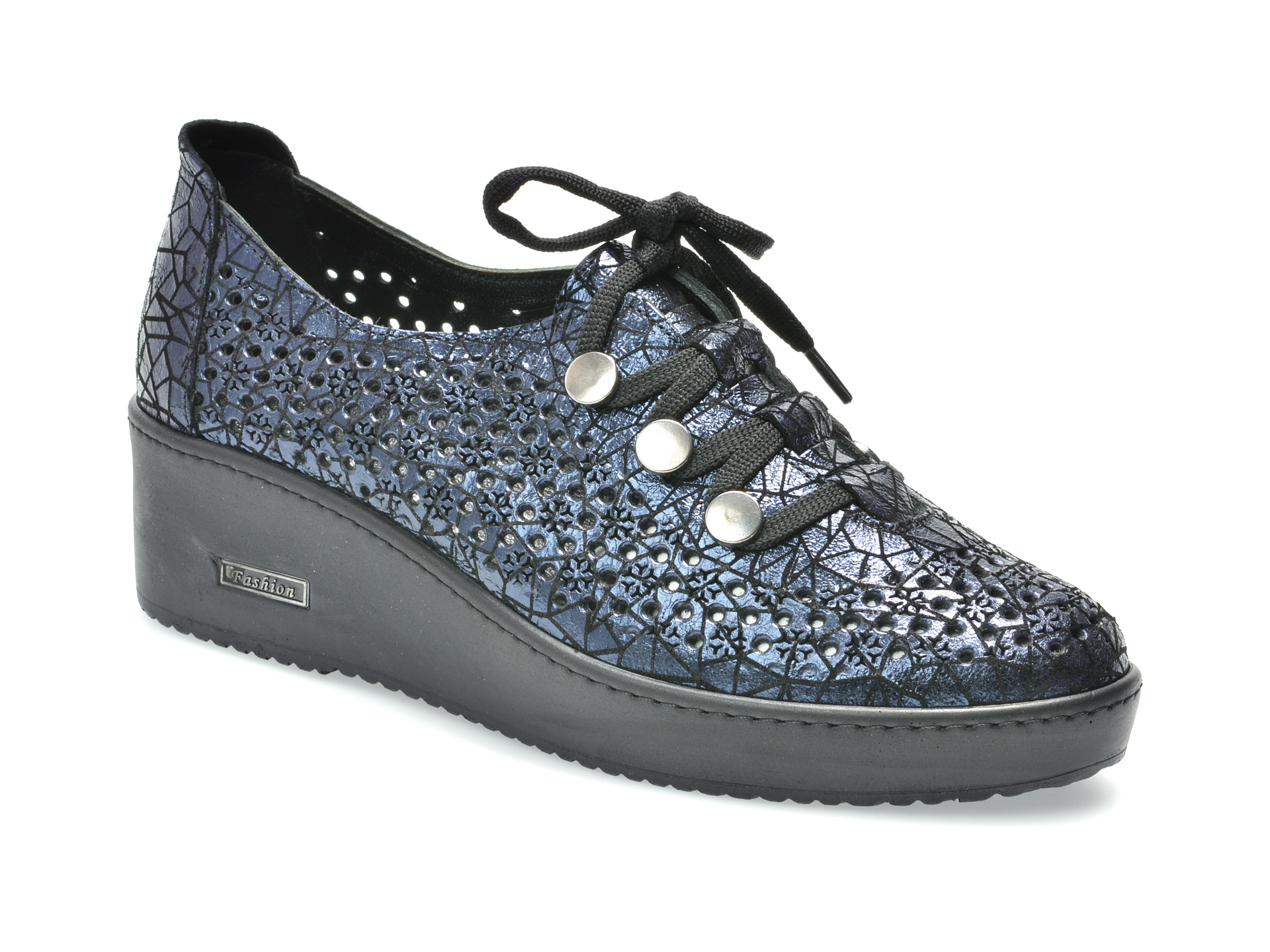 Pantofi FLAVIA PASSINI bleumarin, 1583413, din piele naturala