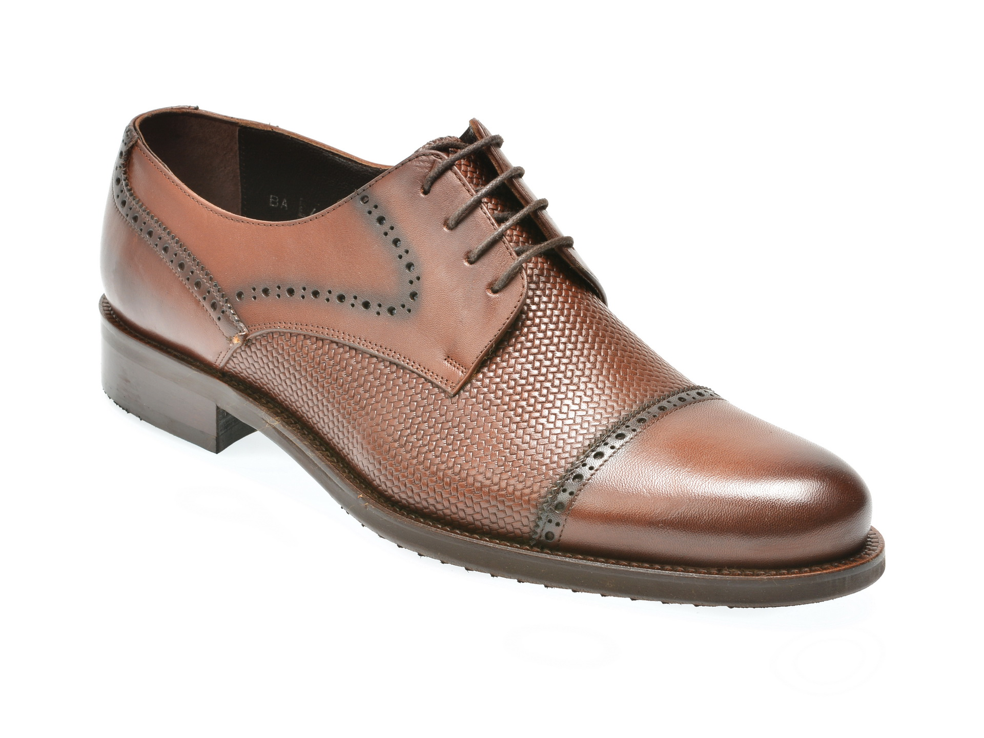 Pantofi OTTER maro, 180, din piele naturala
