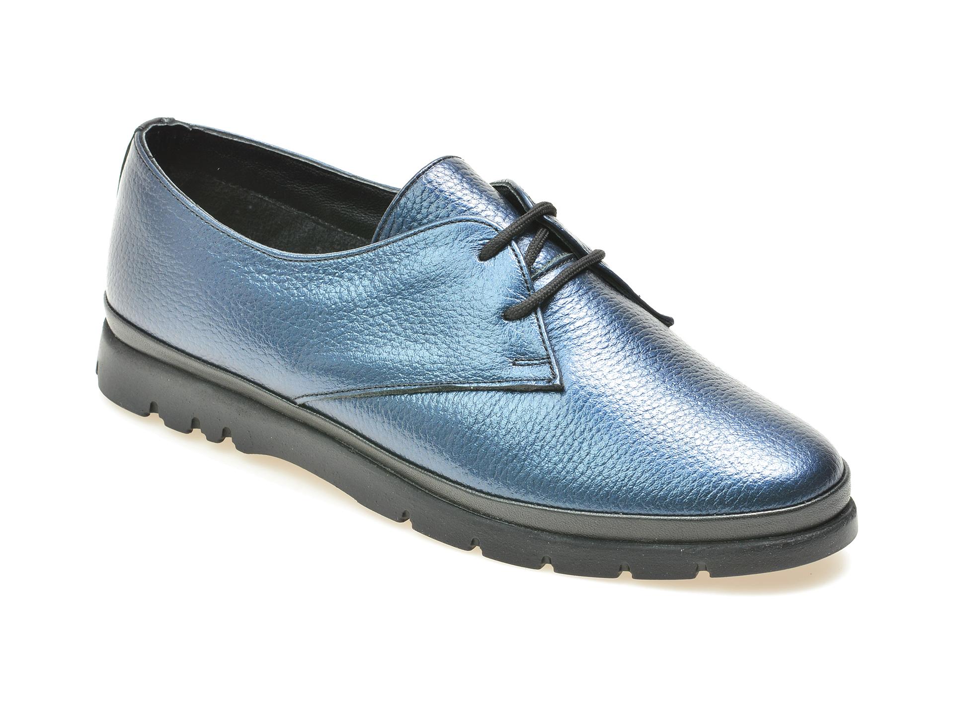 Pantofi FLAVIA PASSINI albastri, 4101, din piele naturala
